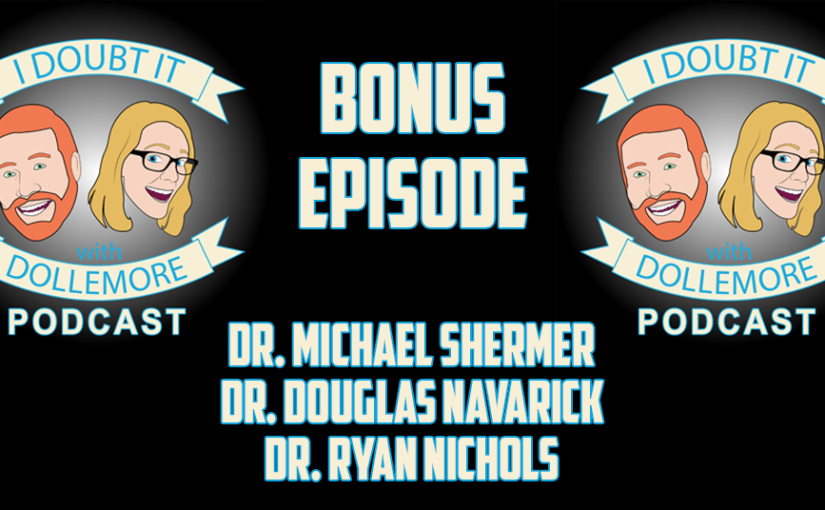 "#BONUS – ""Science Can Determine Moral Values of Right and Wrong with Drs. Michael Shermer, Douglas Navarick, and Ryan Nichols at California State University, Fullerton."""